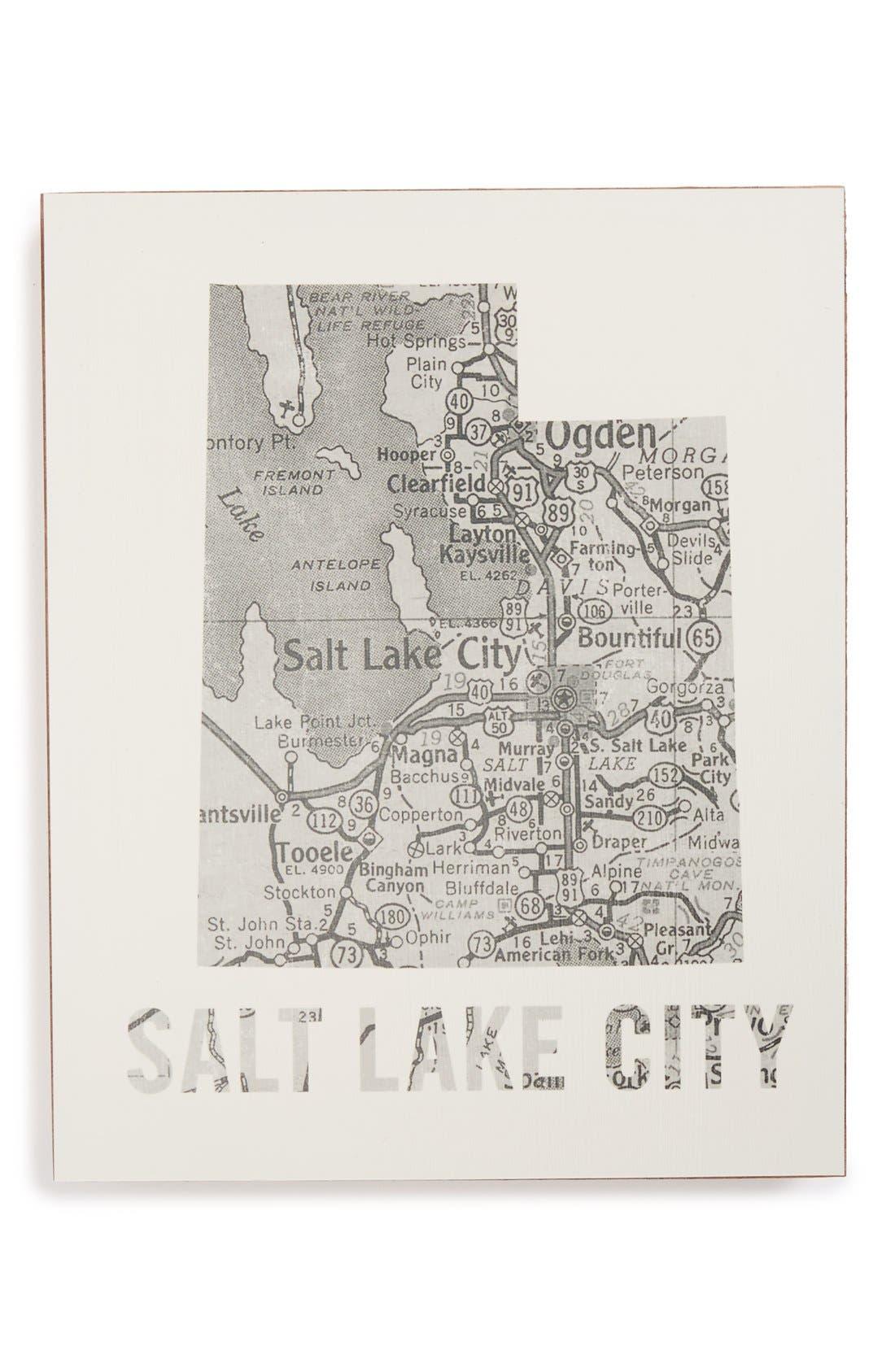 ,                             City Map Wall Art,                             Main thumbnail 33, color,                             050