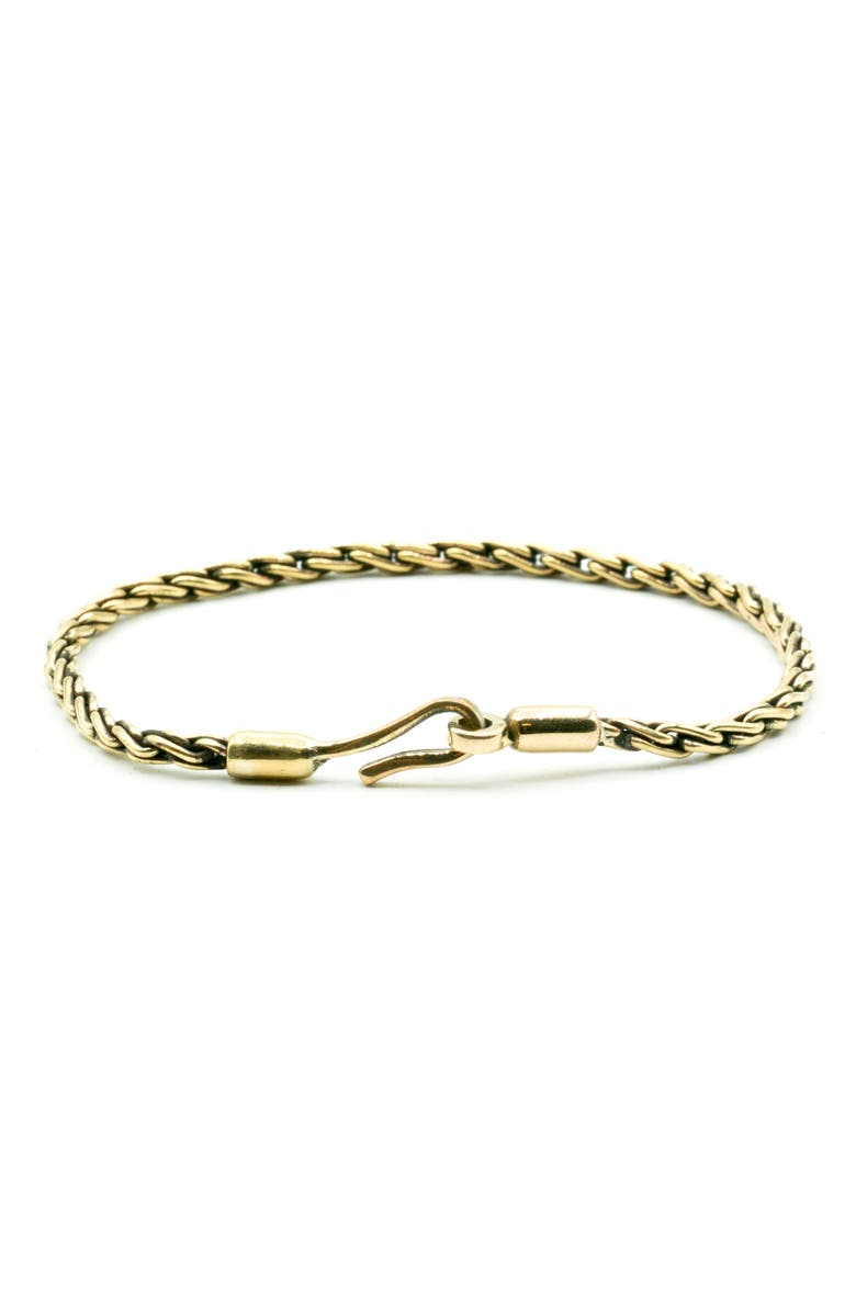 Caputo Co Brass Chain Bracelet