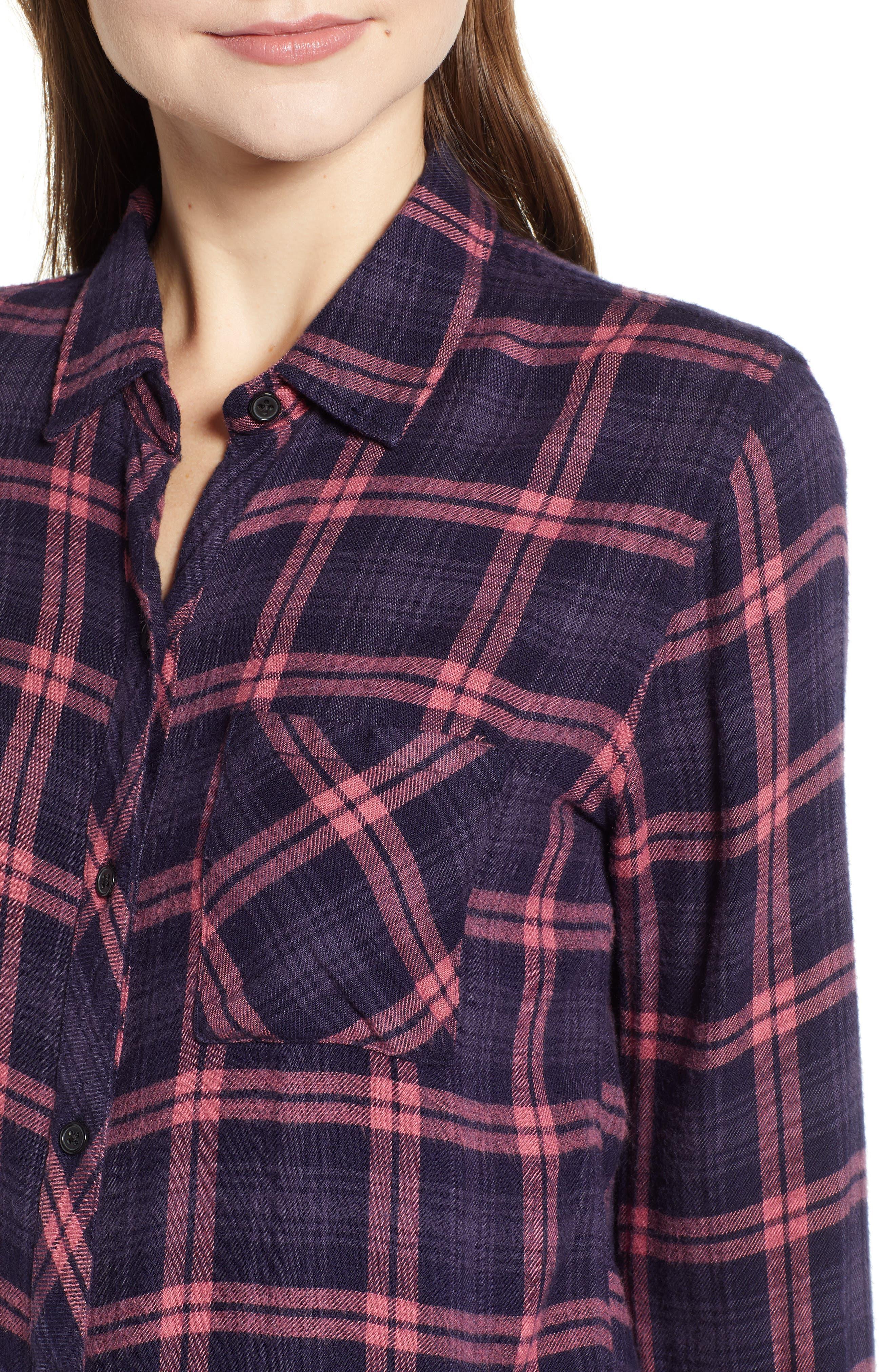 ,                             Hunter Plaid Shirt,                             Alternate thumbnail 391, color,                             493