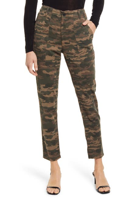 Image of AG Caden Camo Twill Trousers