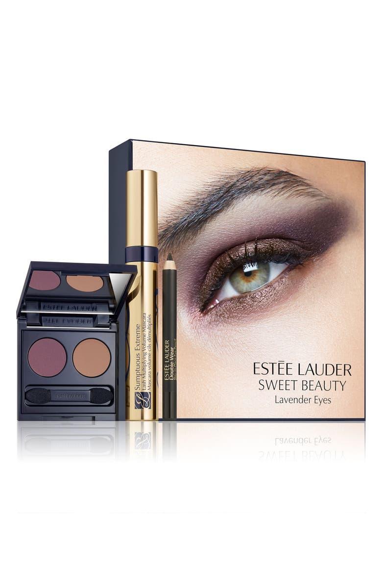 ESTÉE LAUDER Sweet Beauty Lavender Eyes Set, Main, color, NO COLOR