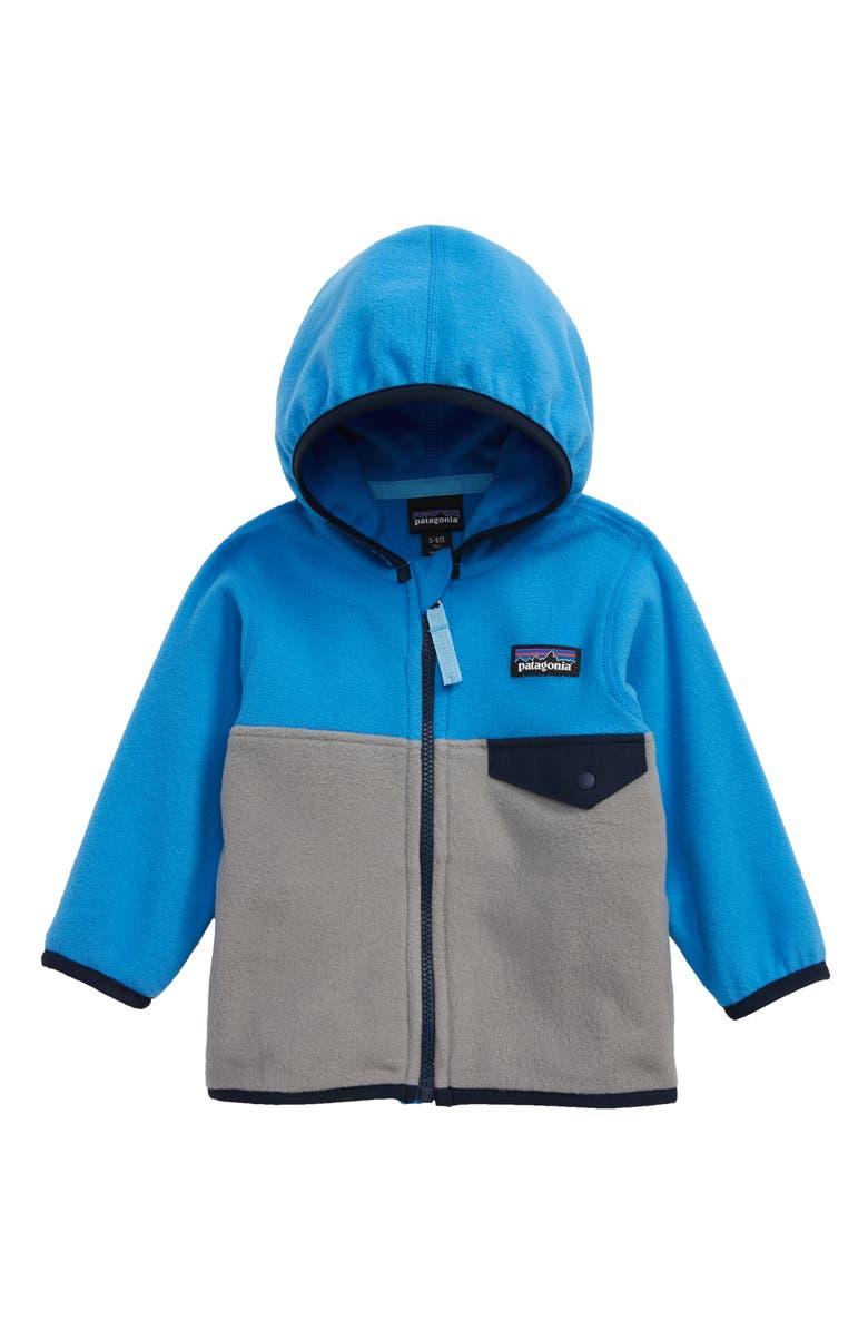 659eb6e20 Patagonia Micro D® Snap-T® Fleece Jacket (Baby) | Nordstrom
