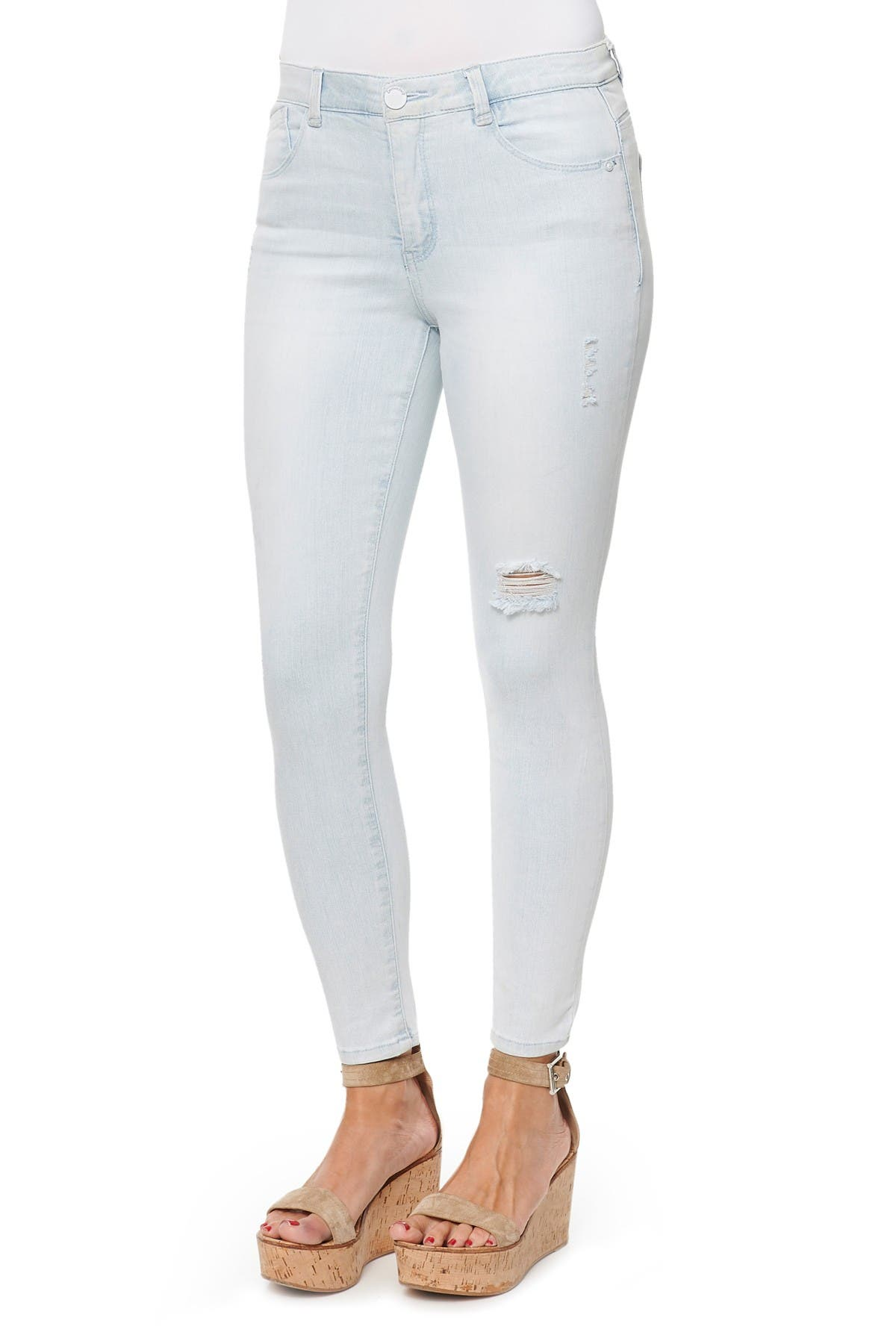 Image of Democracy Luxe High Rise Ankle Skinny Jeans