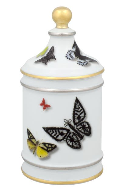 Christian Lacroix Butterfly Parade Sugar Bowl In Multi