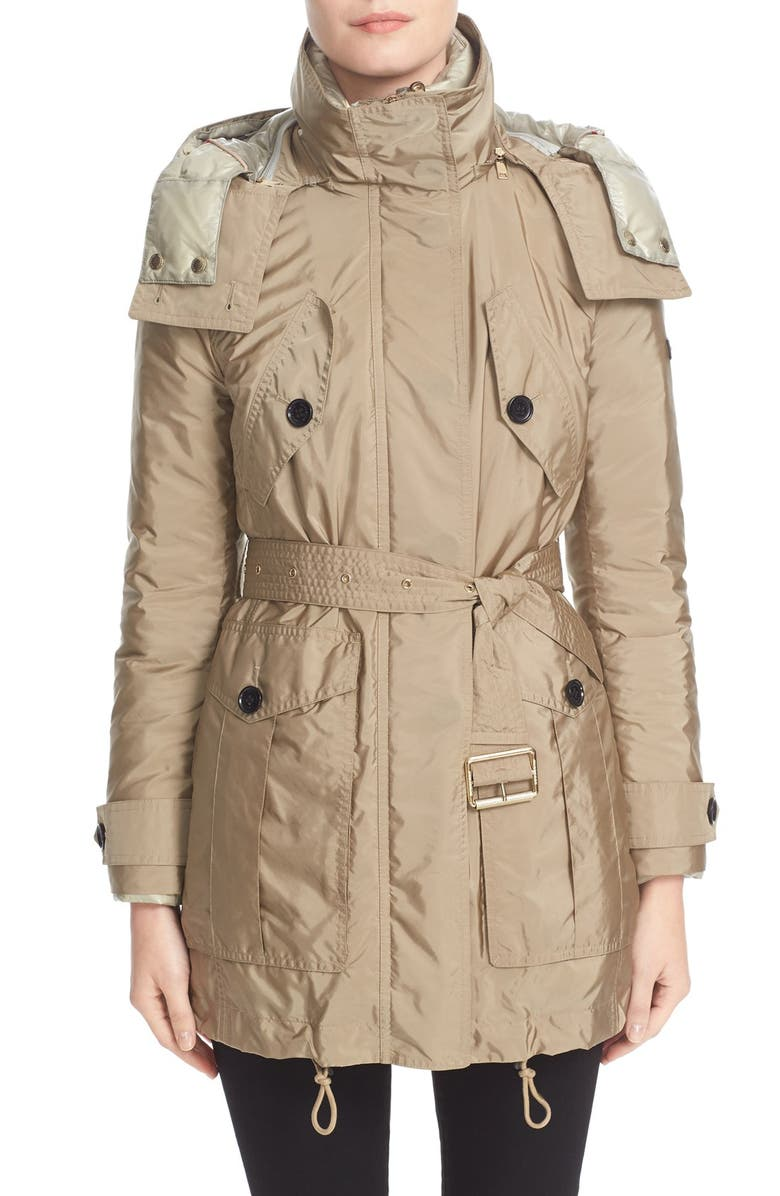 BURBERRY Chevrington Parka, Main, color, 263