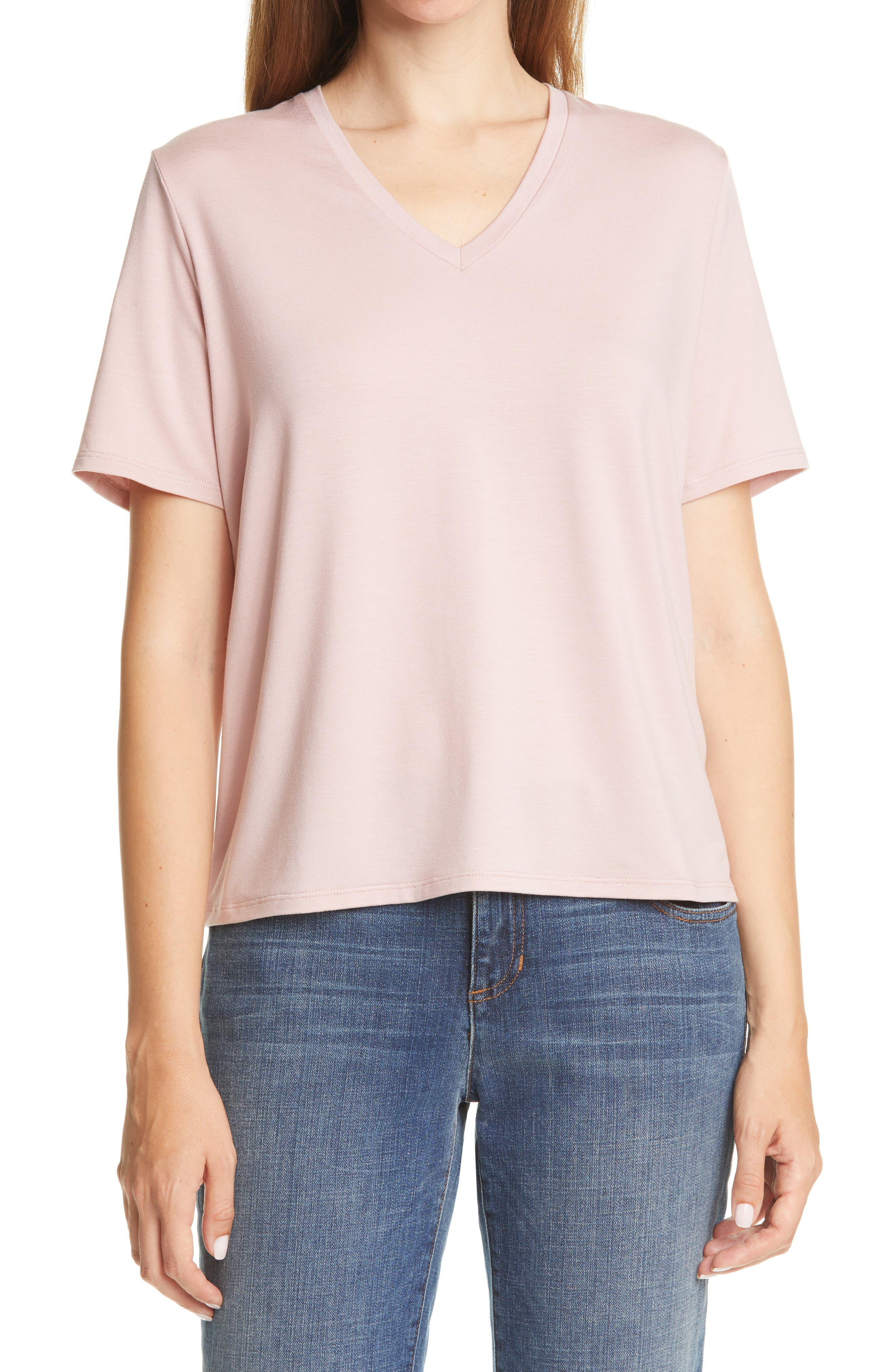 Eileen Fisher V-Neck T-Shirt   Nordstrom