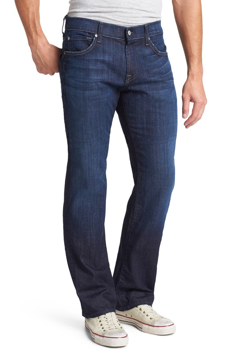 7 FOR ALL MANKIND<SUP>®</SUP> Austyn Relaxed Fit Jeans, Main, color, LOS ANGELES DARK