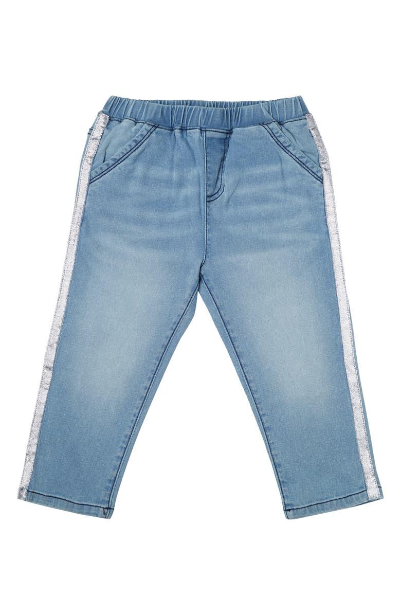 ART & EDEN Pamela Organic Cotton Blend Crop Jeans, Main, color, 400