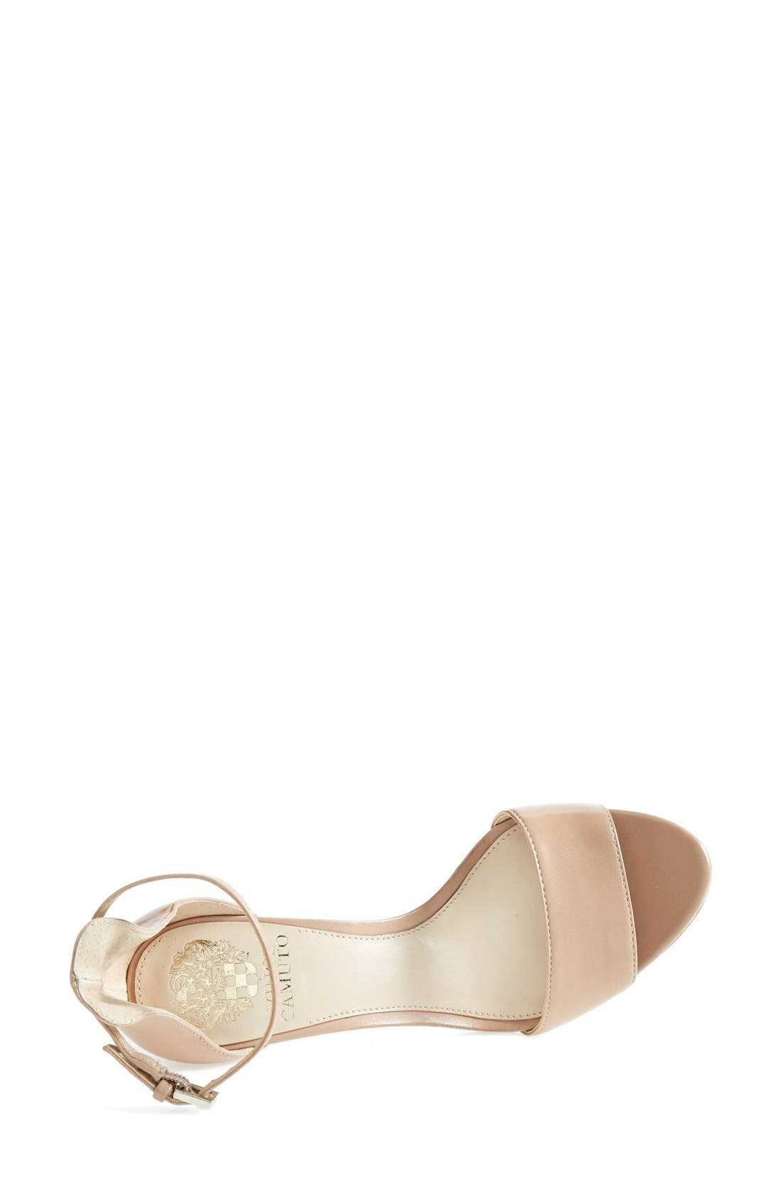 ,                             'Court' Ankle Strap Sandal,                             Alternate thumbnail 61, color,                             261
