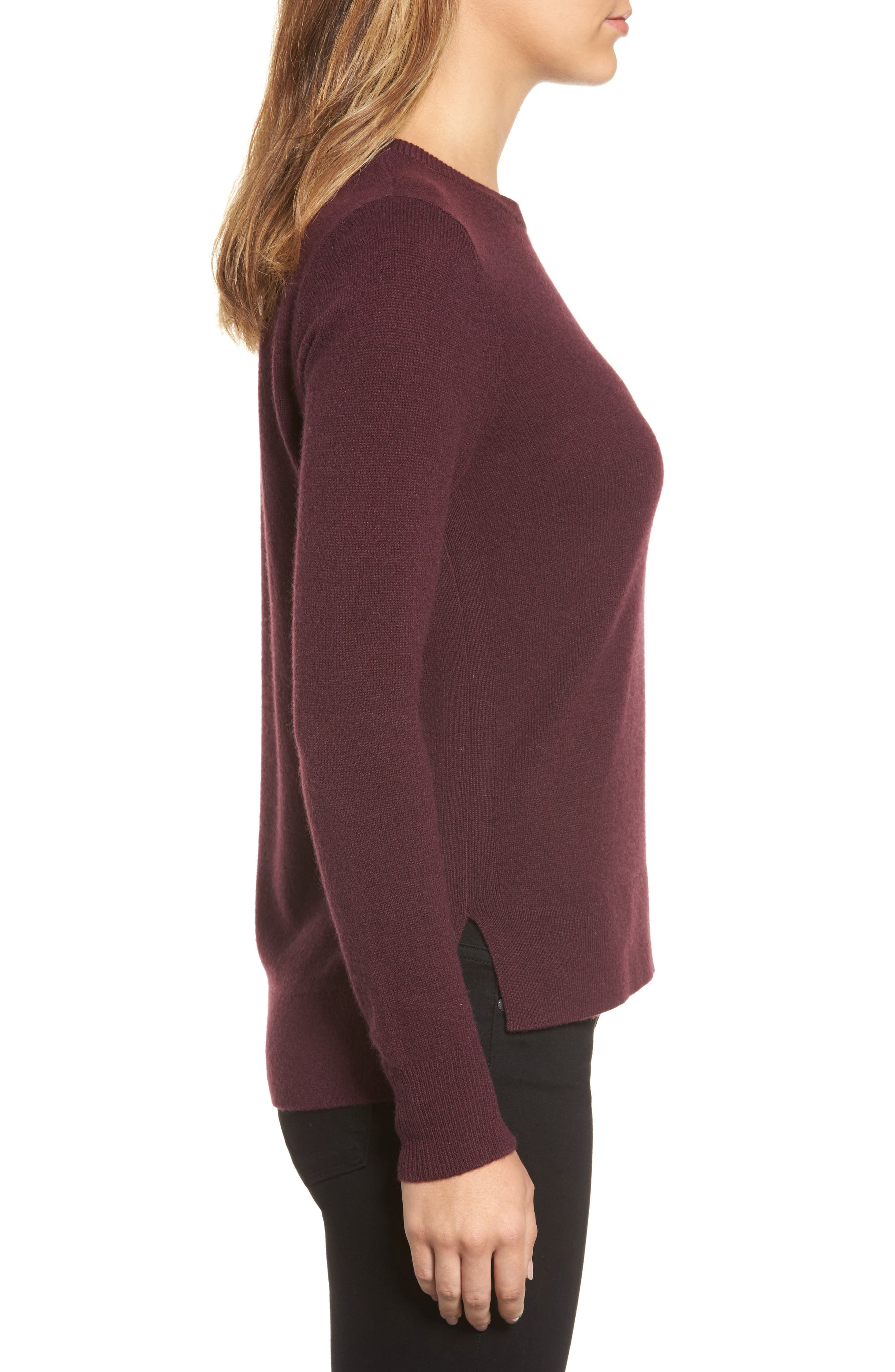 ,                             Crewneck Cashmere Sweater,                             Alternate thumbnail 290, color,                             930