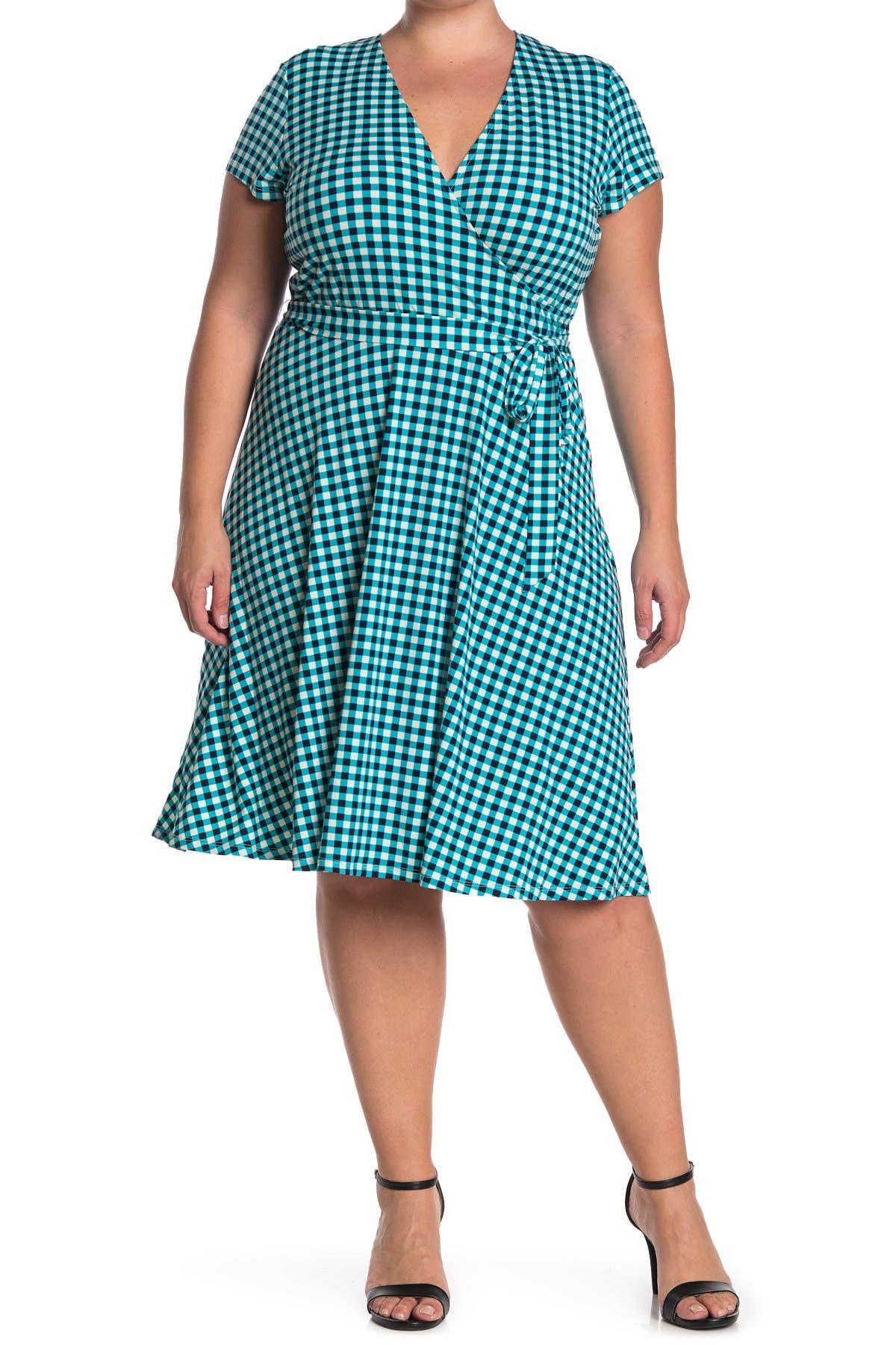 Image of Leota Belted Fit & Flare Dress