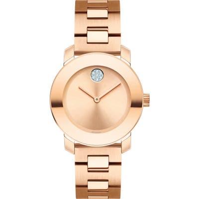 Movado Bold Iconic Bracelet Watch, 30mm