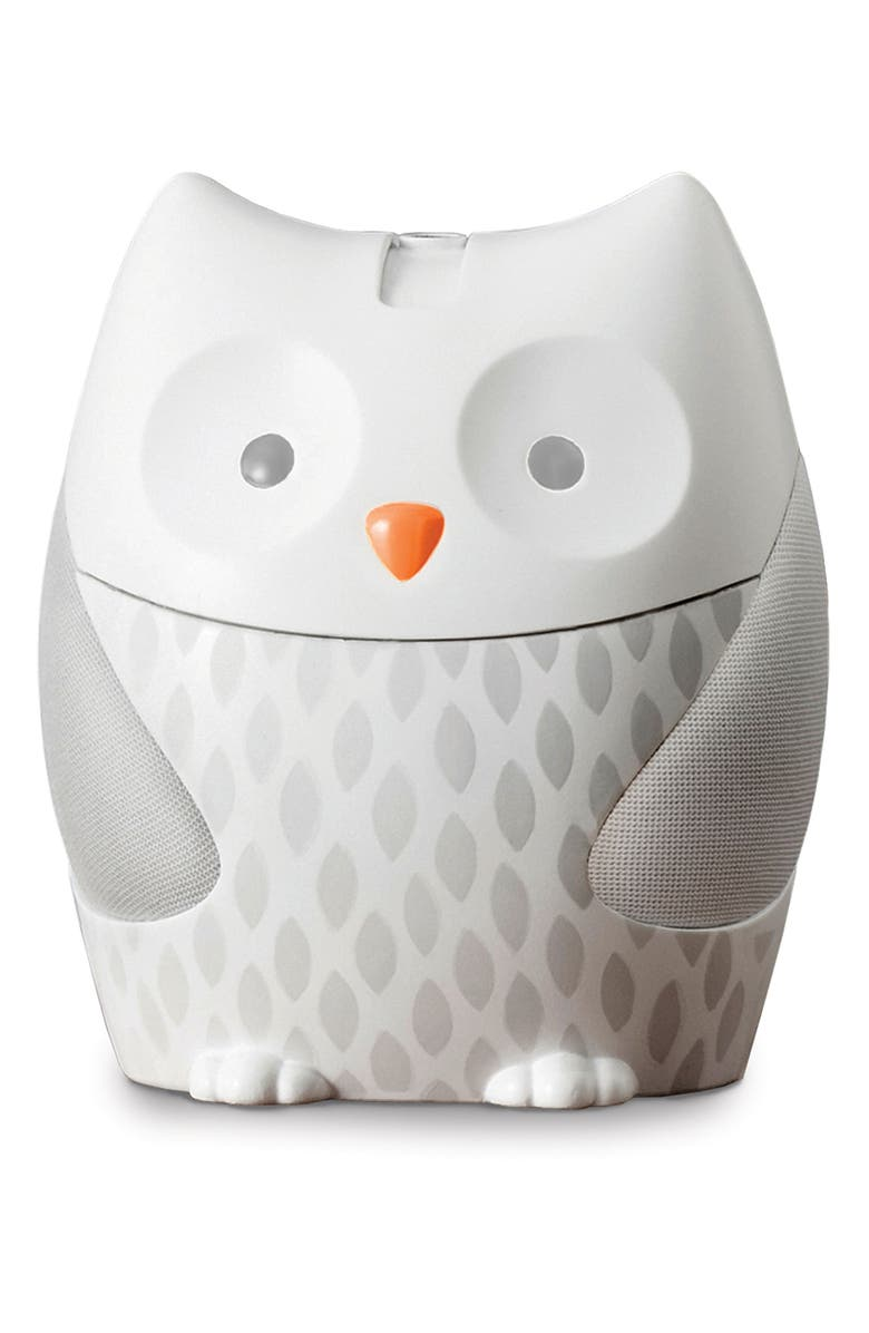 SKIP HOP Owl Nightlight Soother, Main, color, WHITE