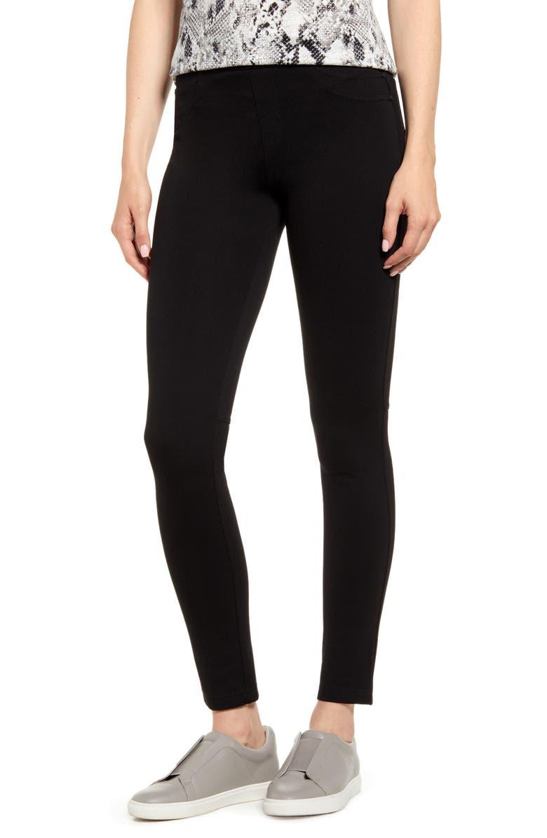 SANCTUARY Grease Leggings, Main, color, BLACK