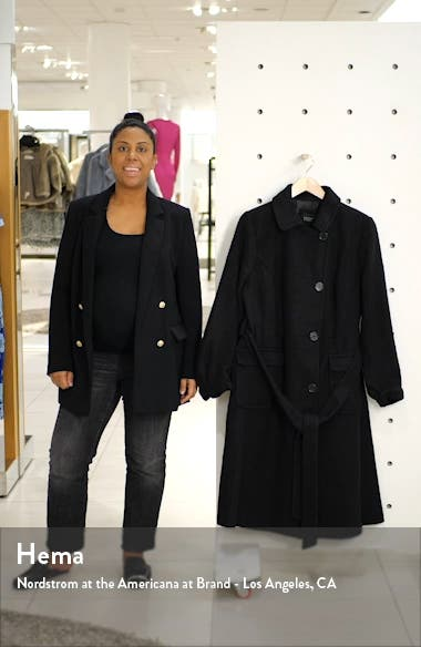 Belted Fit & Flare Coat, sales video thumbnail