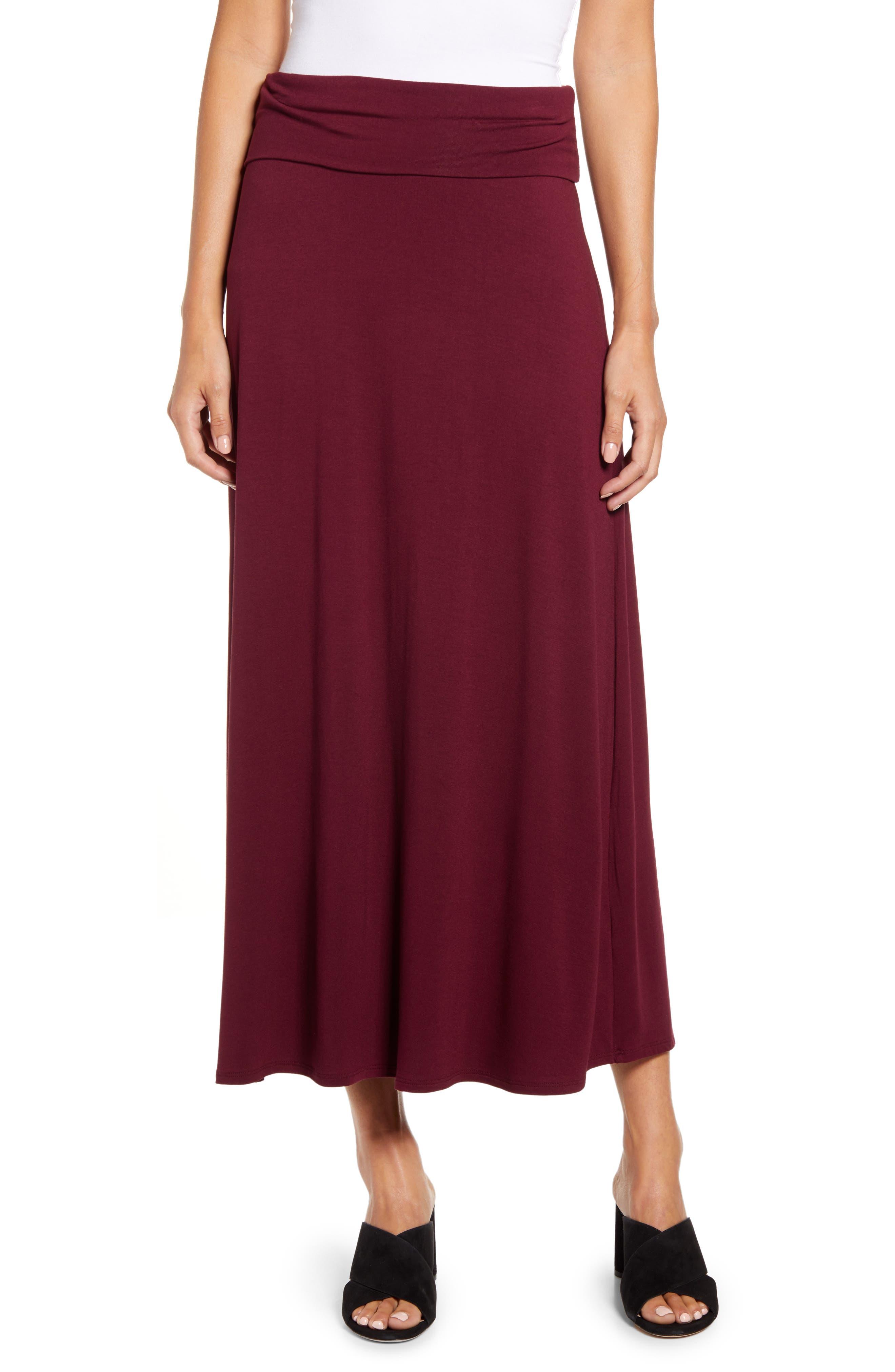 Roll Top Maxi Skirt