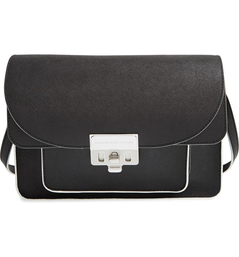 2307fa7b0 MARC BY MARC JACOBS 'Lip Lock' Coated Leather Messenger Bag, Main, color