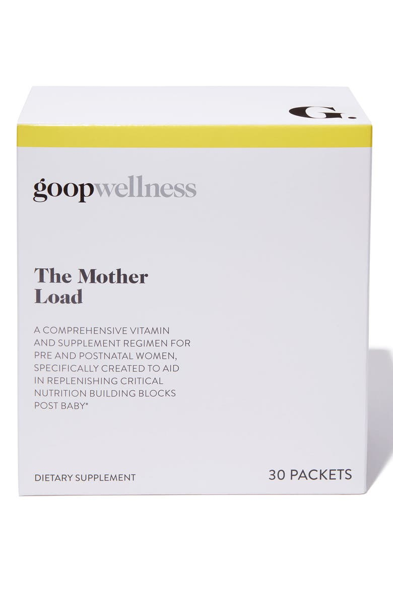 GOOP The Mother Load Dietary Supplement, Main, color, 000