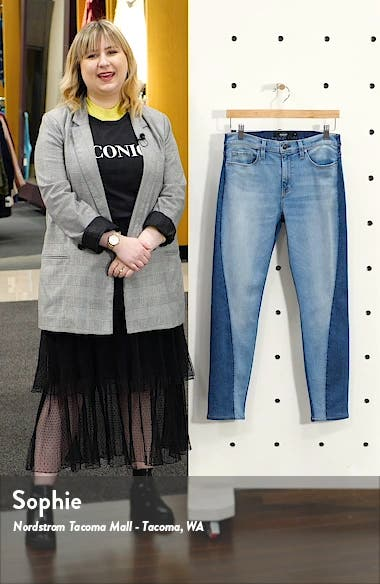 Barbara High Waist Ankle Skinny Jeans, sales video thumbnail