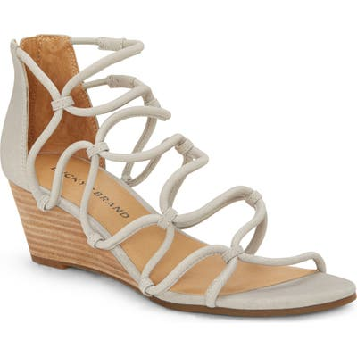 Lucky Brand Jilses Wedge Sandal- Grey
