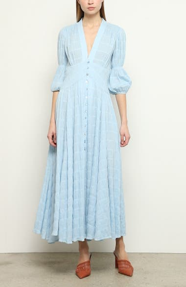 Willow Eyelet Maxi Dress, video thumbnail