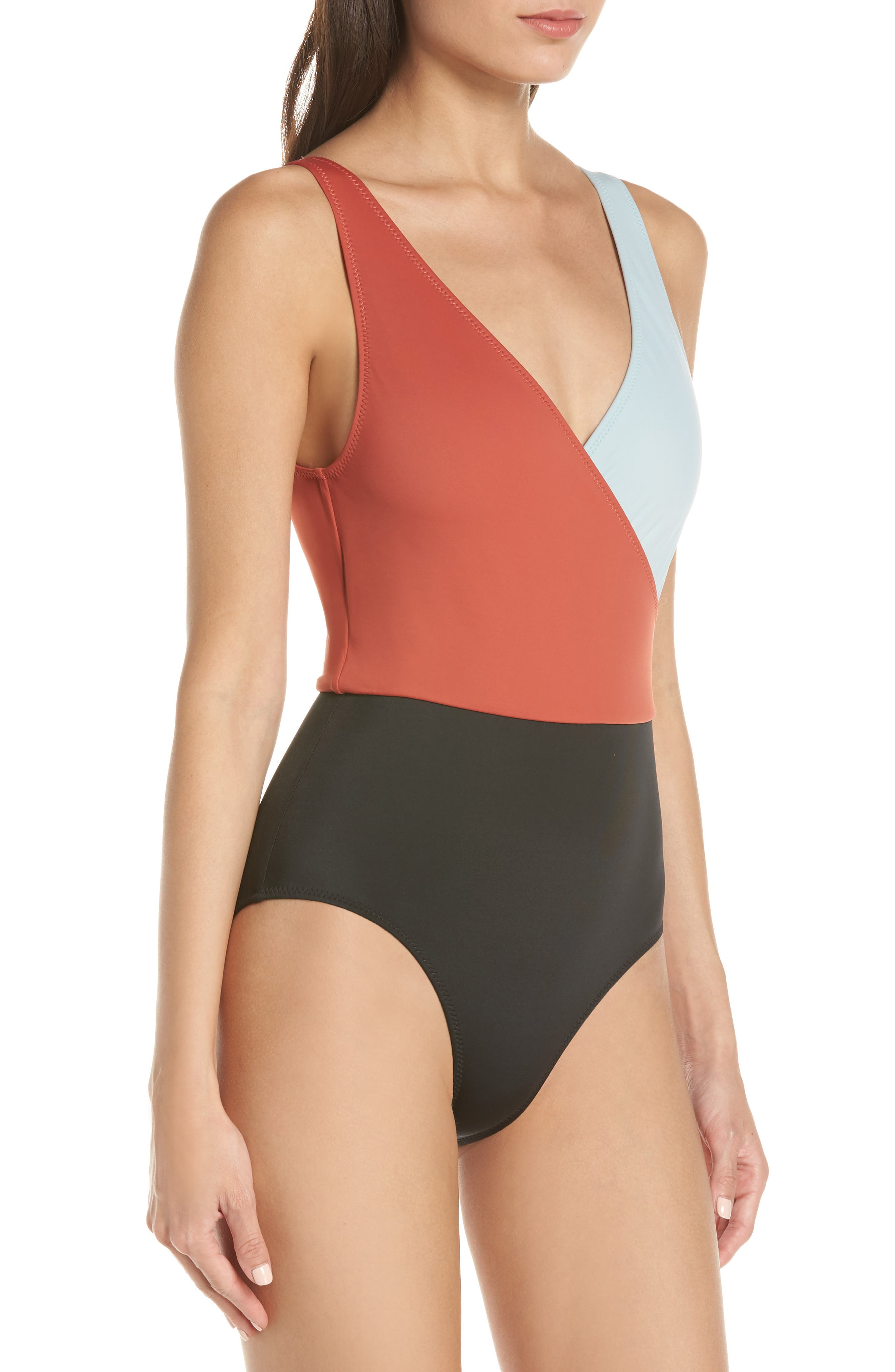 ,                             Ballerina One-Piece Swimsuit,                             Alternate thumbnail 3, color,                             400