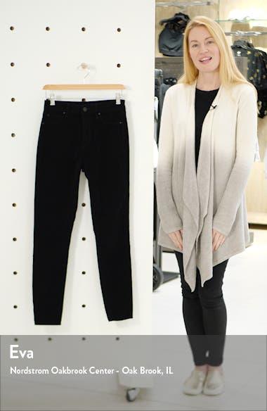 Hilary High Waist Ankle Velveteen Skinny Jeans, sales video thumbnail
