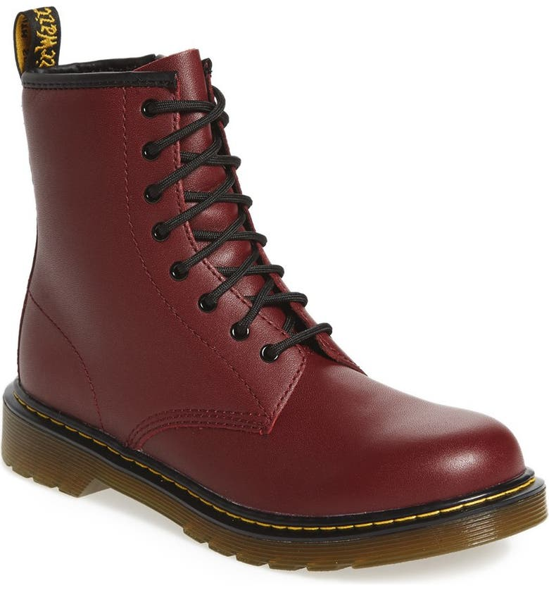 DR. MARTENS Boot, Main, color, CHERRY