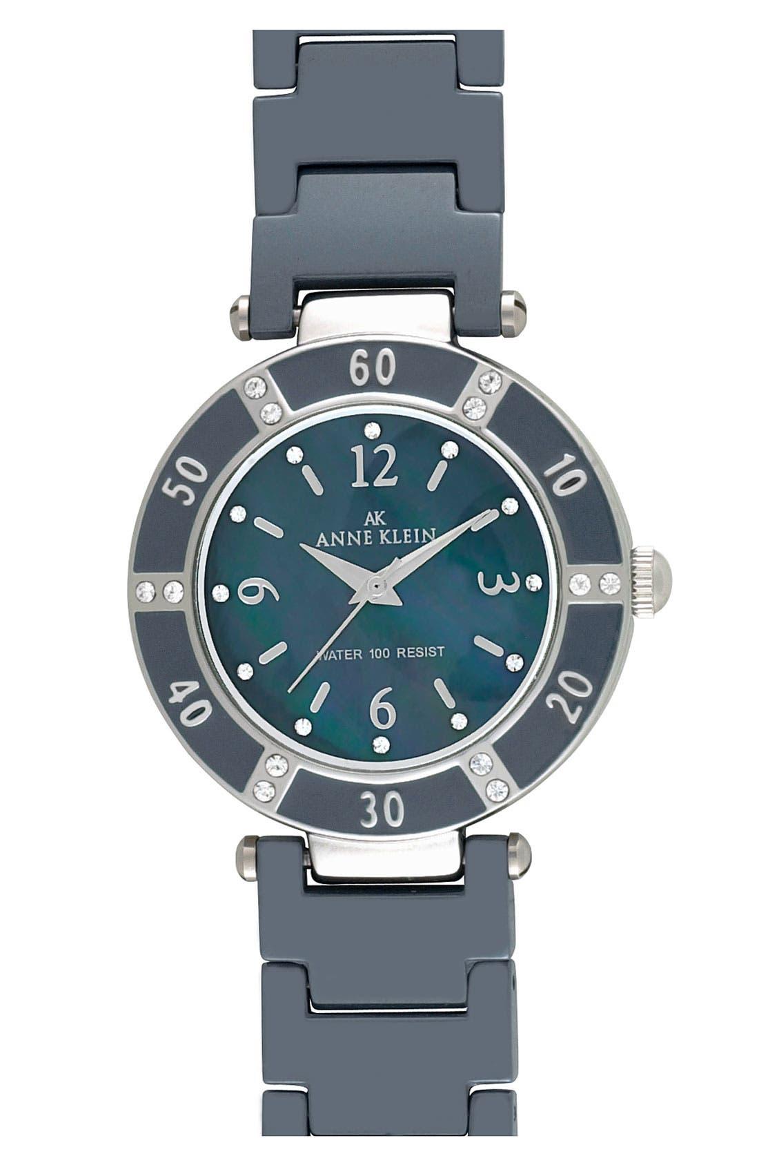 ,                             Round Ceramic Bracelet Watch, 31mm,                             Main thumbnail 3, color,                             020
