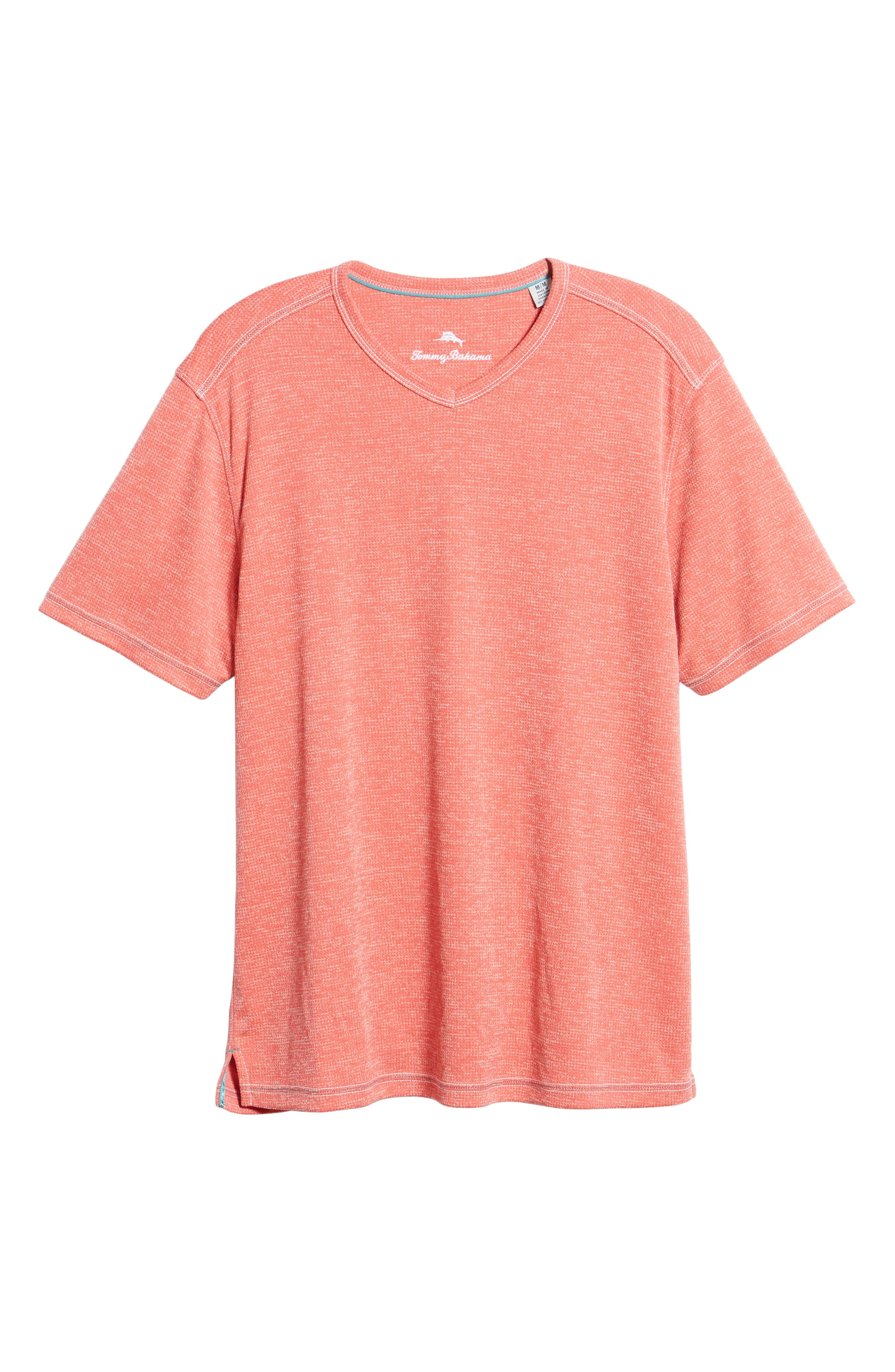 ,                             Sand Key V-Neck T-Shirt,                             Alternate thumbnail 6, color,                             CORAL HAZE