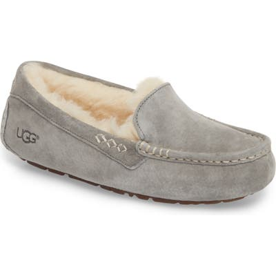 UGG Ansley Water Resistant Slipper, Grey (Nordstrom Exclusive)