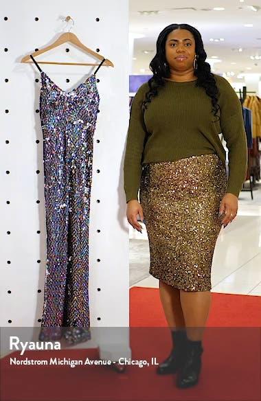 Rainbow Sequin Jumpsuit, sales video thumbnail