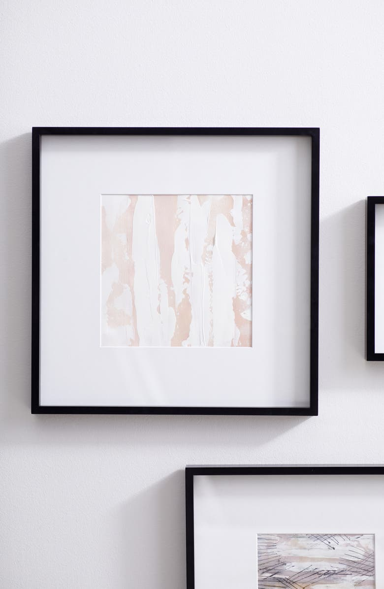 THE WHITE COMPANY Fine Wooden Frame, Main, color, BLACK-10 X 10