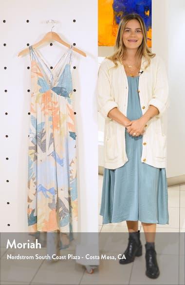 Kaitlyn Floral Print Maxi Dress, sales video thumbnail