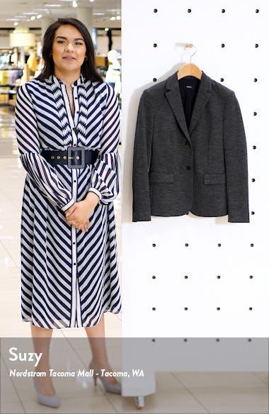 Classic Cotton & Wool Blend Shrunken Jacket, sales video thumbnail
