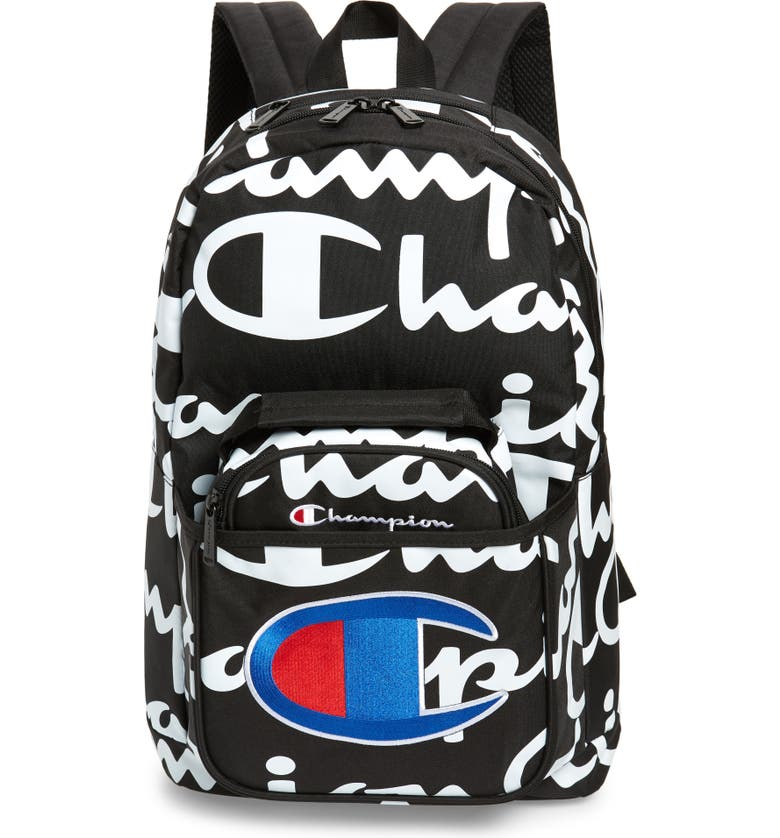 CHAMPION Youth Supercize Backpack with Removable Lunch Bag, Main, color, 009