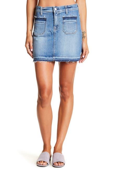 Image of Seven7 Pocket Mini Skirt