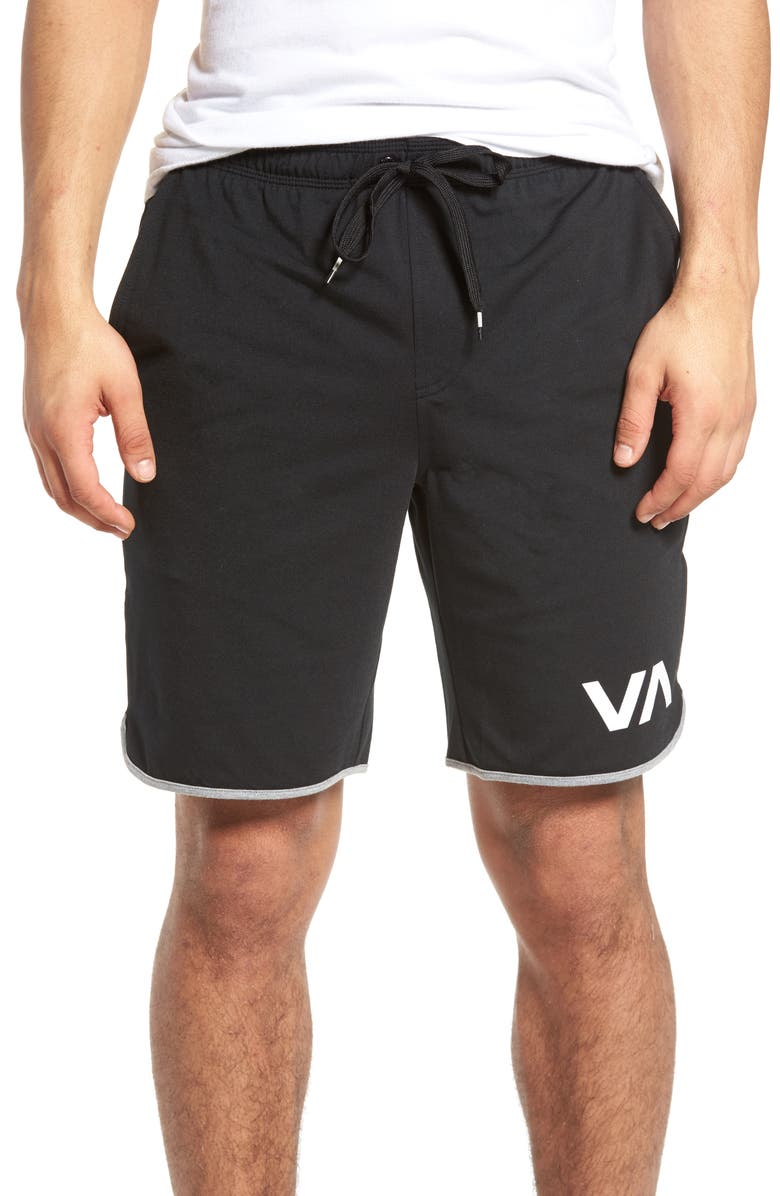 RVCA VA Sport II Shorts, Main, color, 001