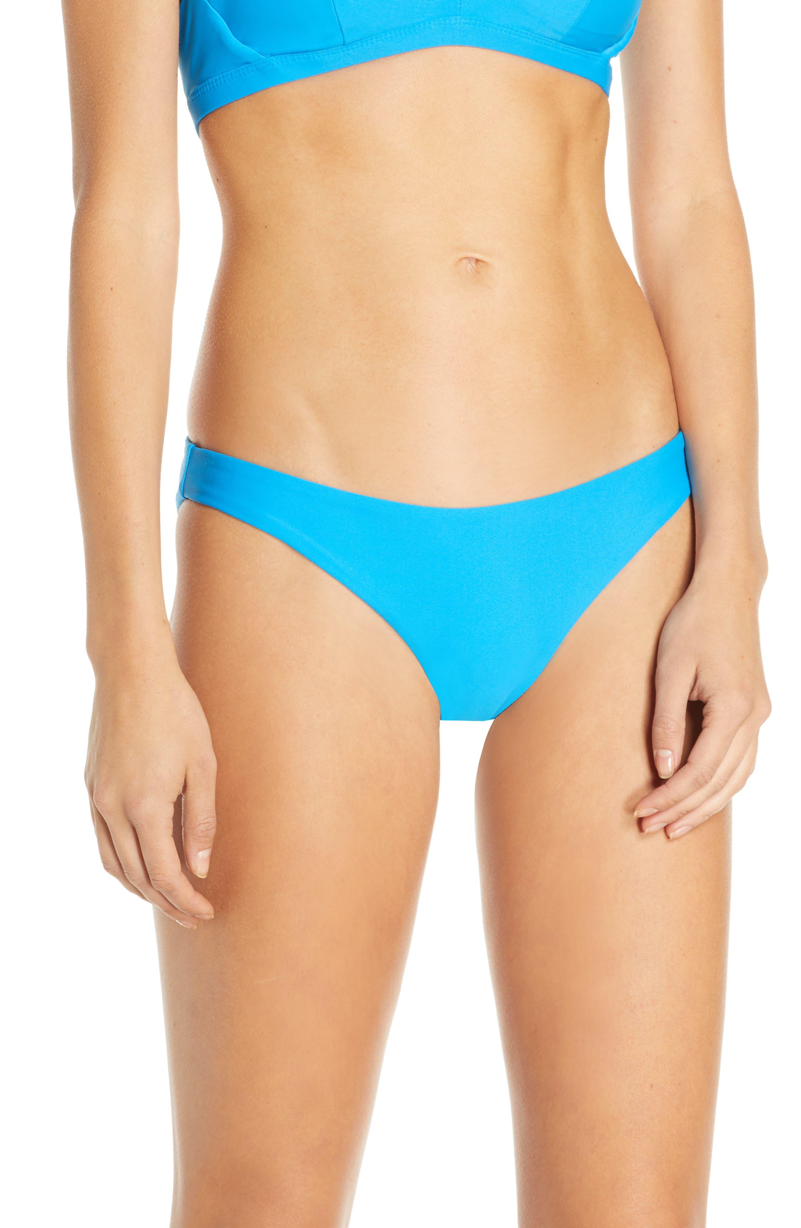 Hurley Quick Dry Surf Bikini Bottoms, Blue