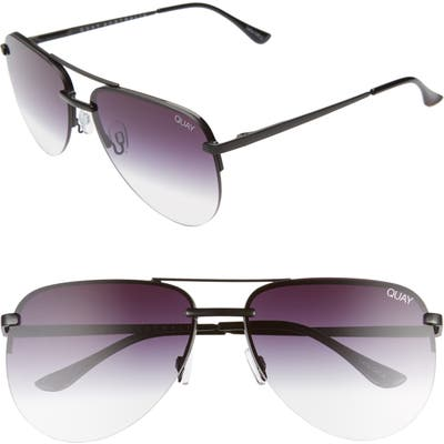 Quay Australia X Jlo The Playa 5m Aviator Sunglasses -