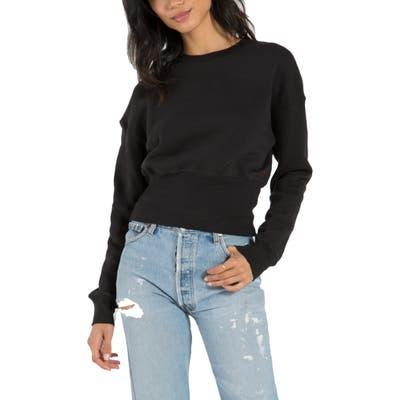N:philanthropy Reeves Crop Sweatshirt, Black