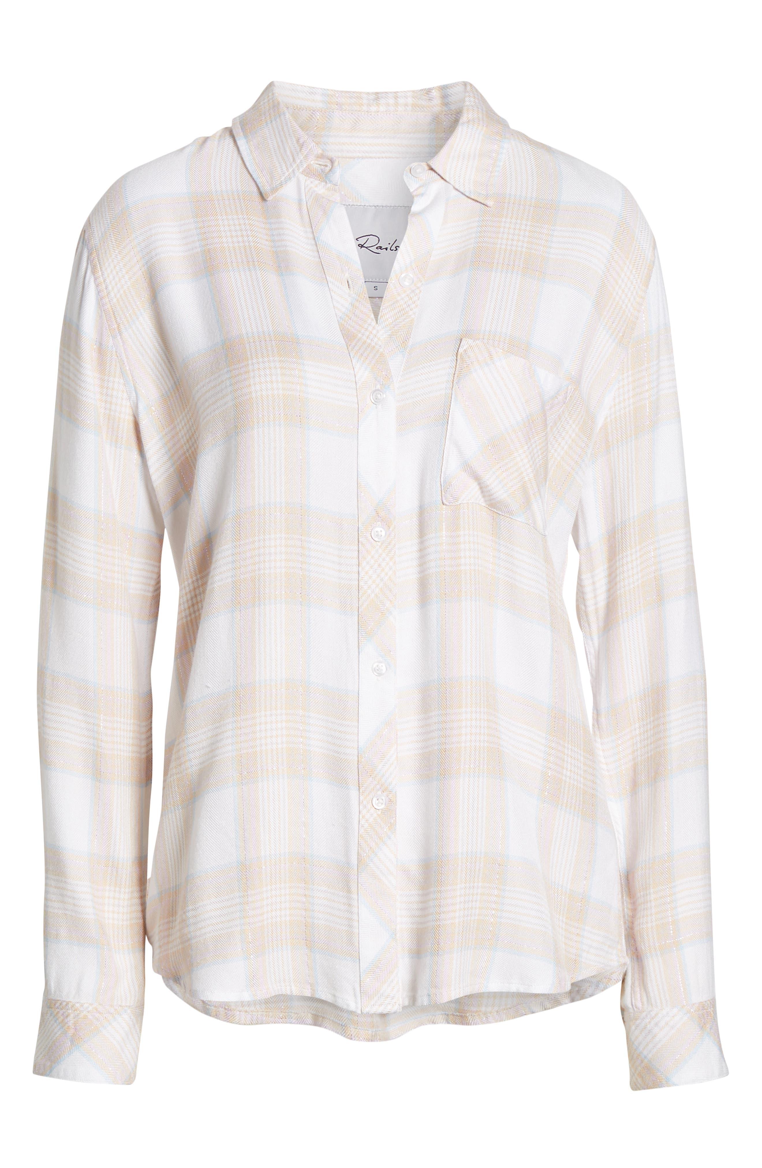 ,                             Hunter Plaid Shirt,                             Alternate thumbnail 194, color,                             651