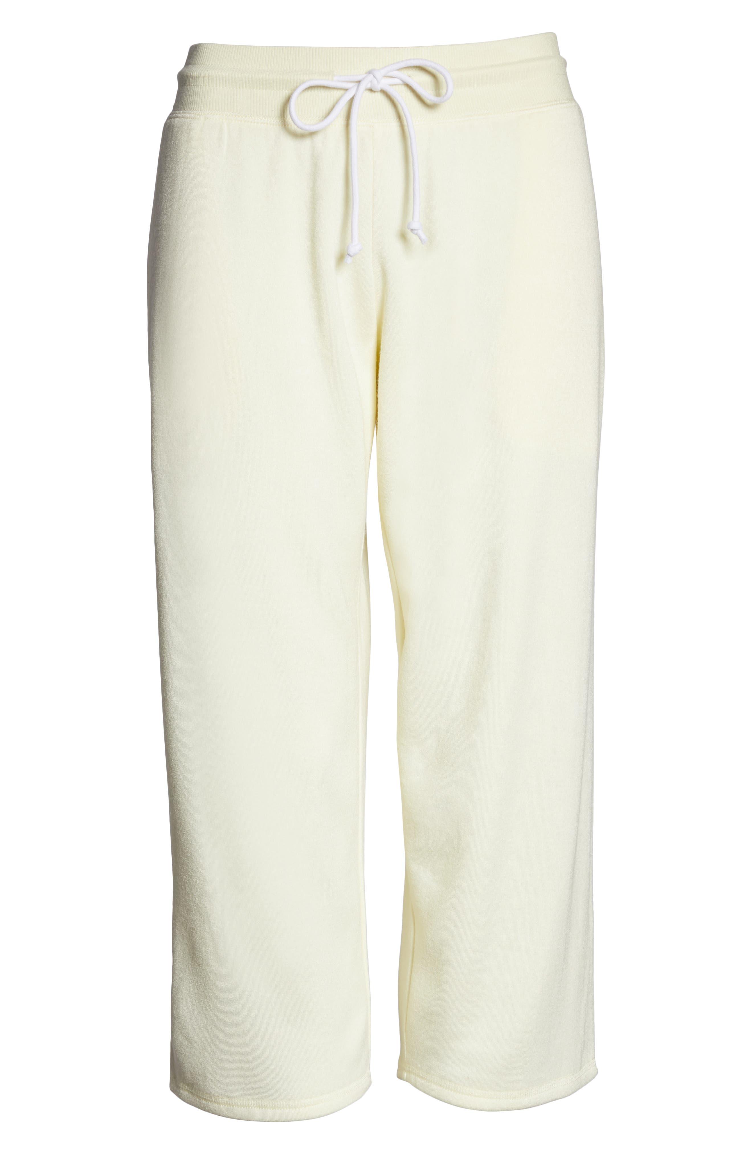 ,                             Cropped Fleece Pants,                             Alternate thumbnail 20, color,                             740