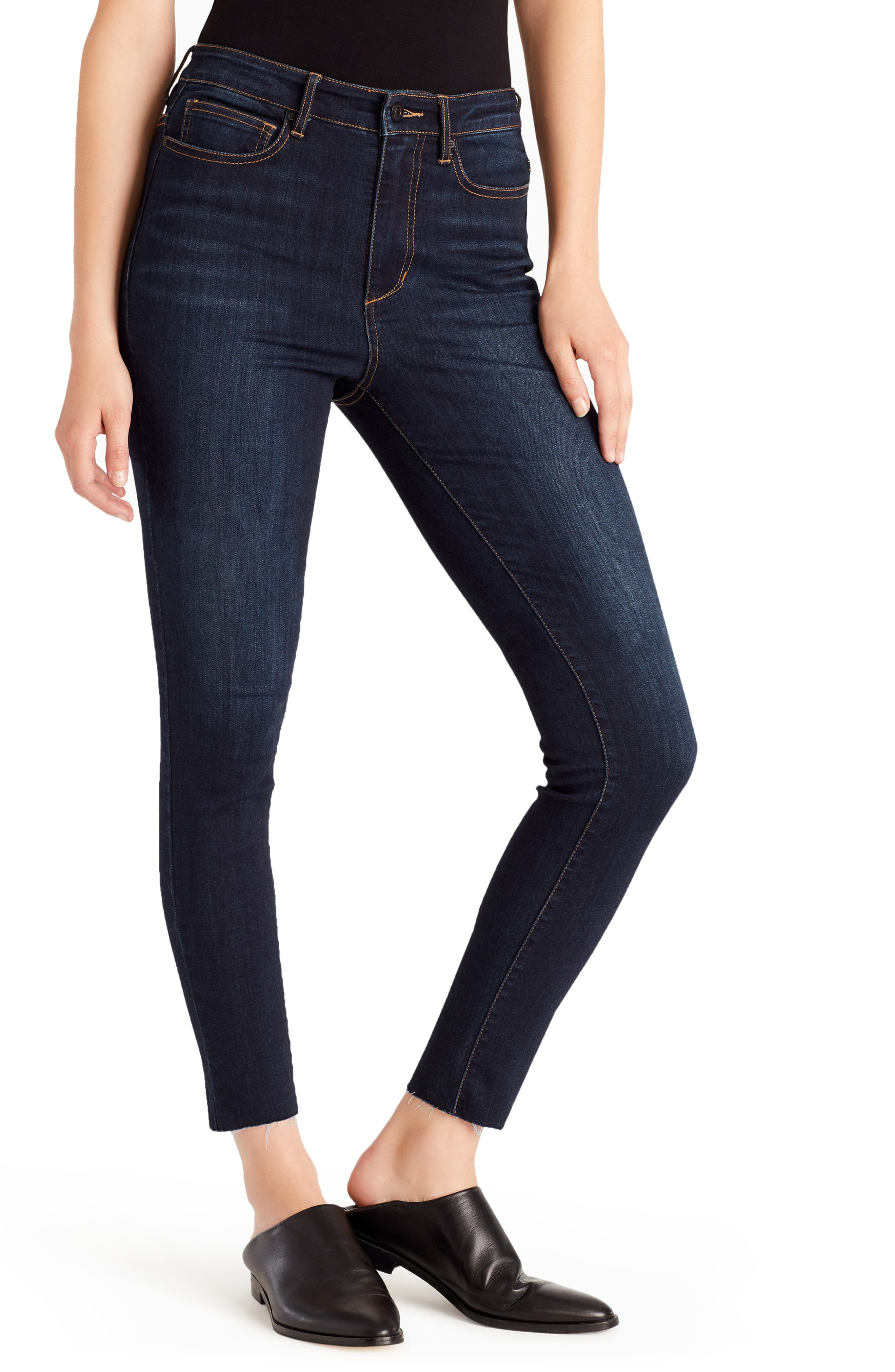 Ella Moss Jeans High Waist Ankle Skinny Jeans