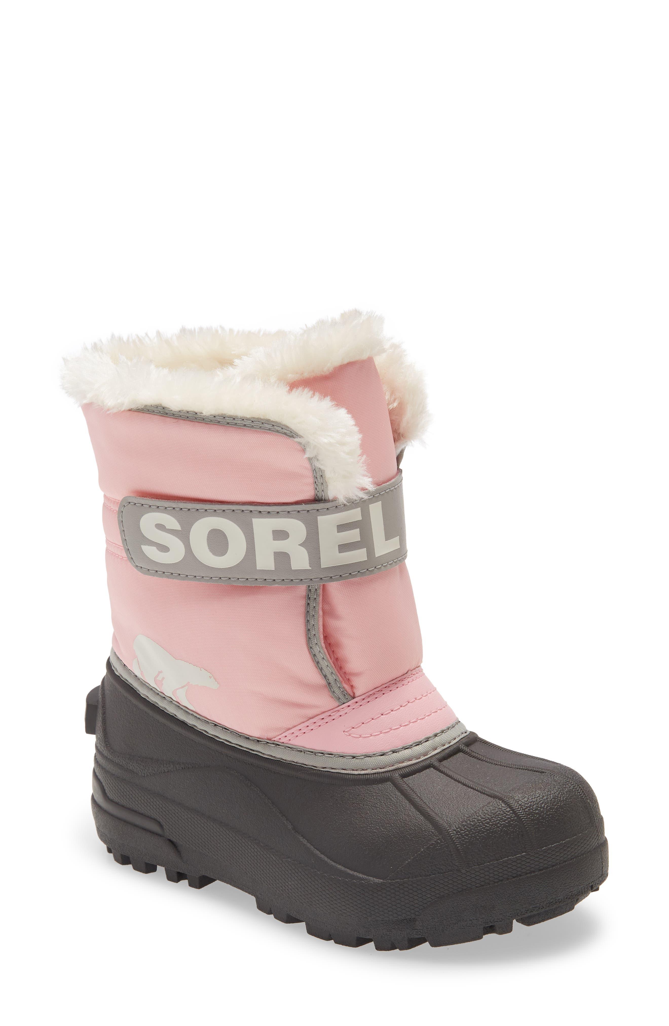 SOREL Snow Commander Insulated Waterproof Boot (Toddler & Little Kid) | Nordstrom