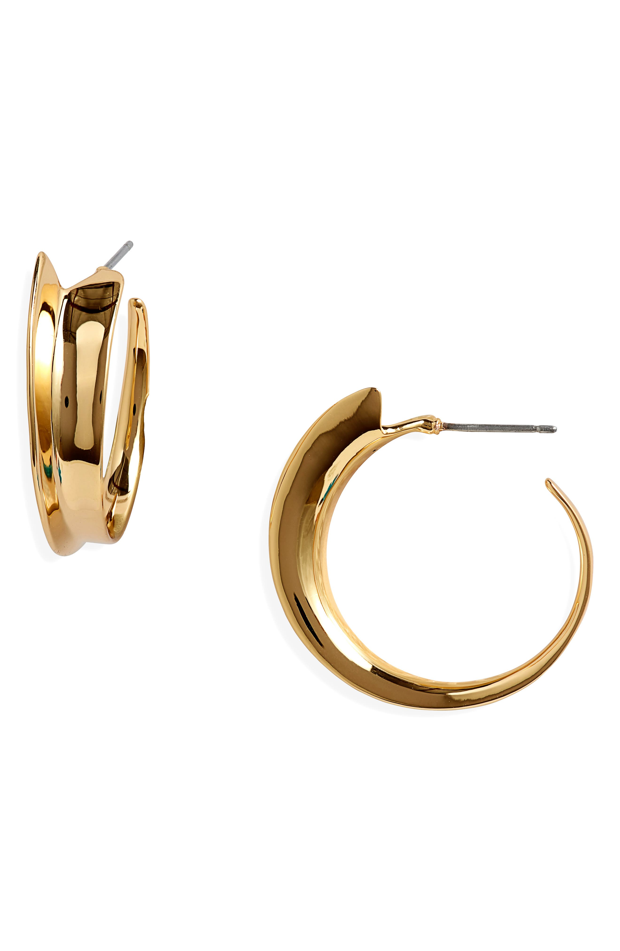 Vantage Hoop Earrings