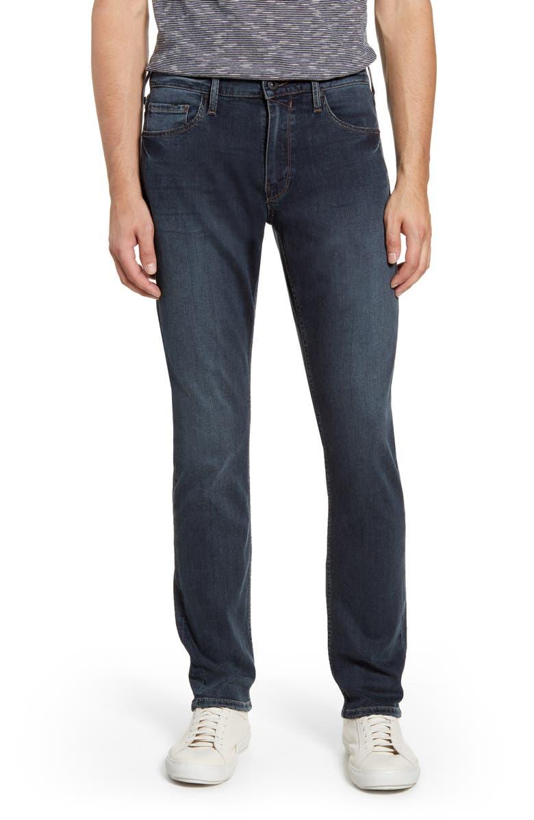 PAIGE Transcend Federal Slim Straight Leg Jeans, Main, color, CARRAWAY