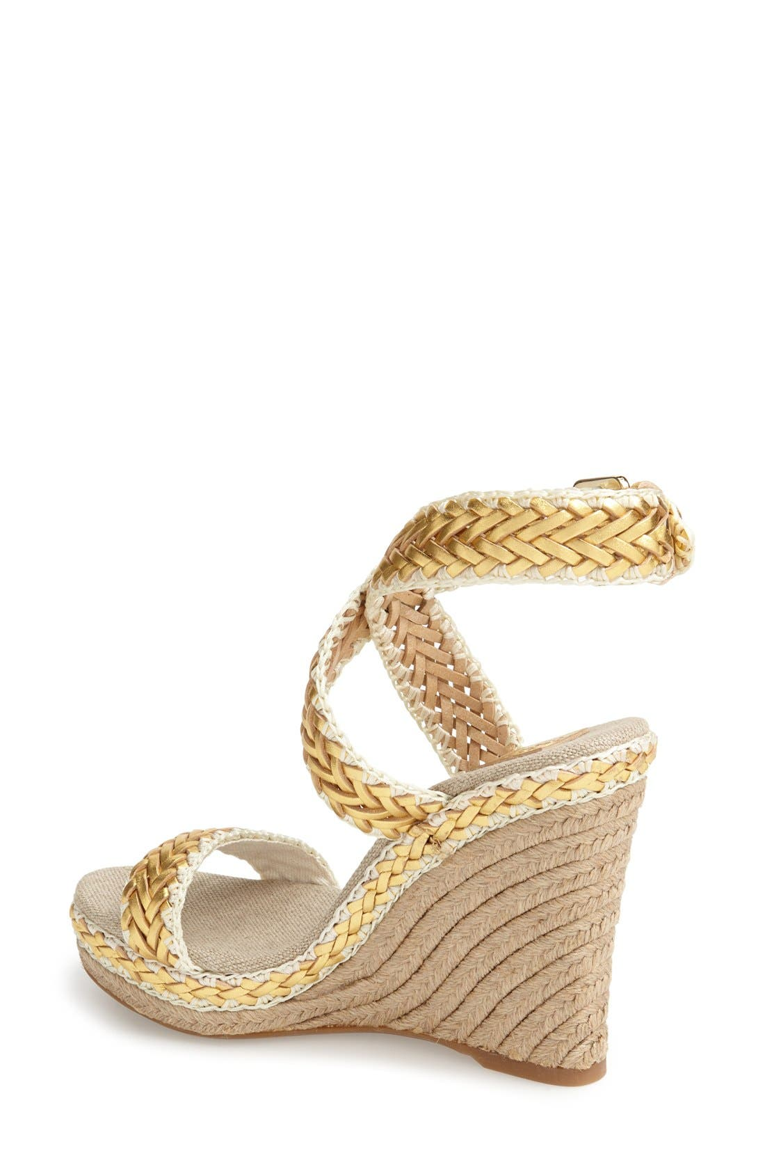 ,                             'Lilah' Espadrille Wedge Sandal,                             Alternate thumbnail 2, color,                             714
