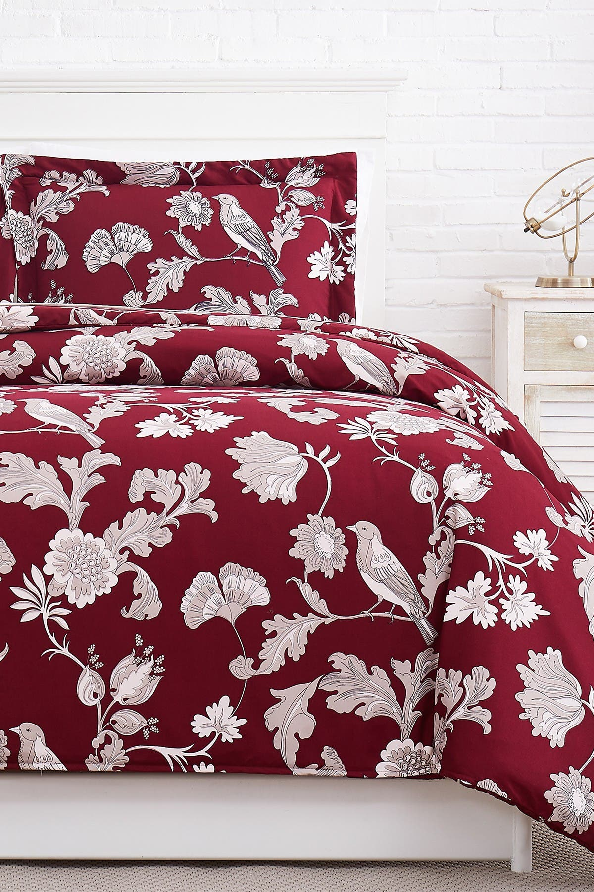 Image of SOUTHSHORE FINE LINENS Premium Collection Oversized Duvet Cover Sets 3-Piece Set - King/California King