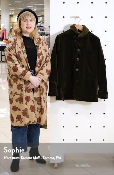 Brockwell Slim Fit Corduroy Cotton Jacket, sales video thumbnail